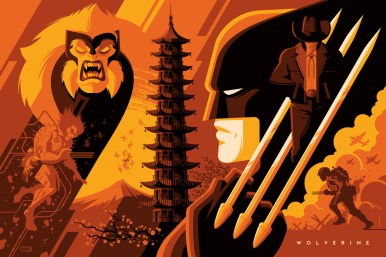 Wolverine by Tom Whalen