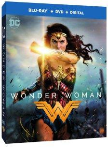 Wonder Woman Blu Ray cover