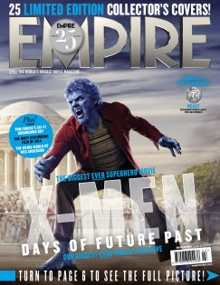 X-Men DOFP Empire cover - Beast