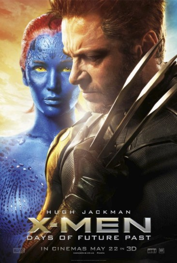 X-Men Days of Future Past poster Wolverine