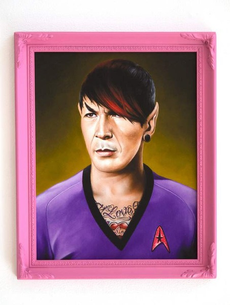 "Scott Scheidly ""Emo Spock"""