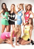 Power Rangers Tank Dresses
