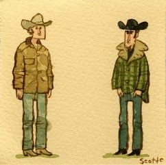 Scott C's Great Showdown tribute to Brokeback Mountain