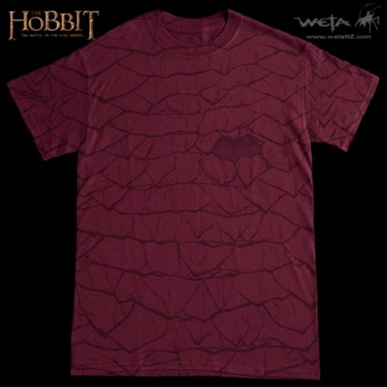 The Hobbit: Battle of Five Armies Smaug Scale T-Shirt
