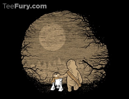 Star Wars/Winnie The Pooh-inspired design Wookiee the Chew