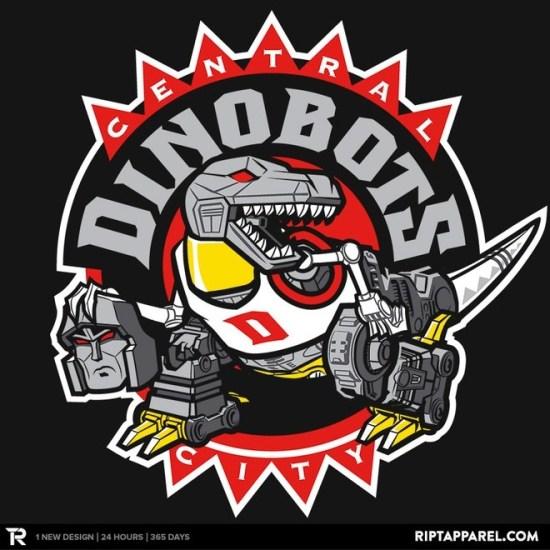 Central City Dinobots t-shirt