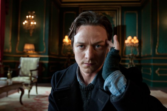 James McAvoy as Professor Charles Xavier in X-Men: First Class