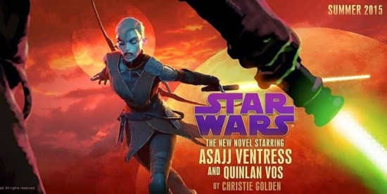 star wars novel starring asajj ventress and quinlan vos