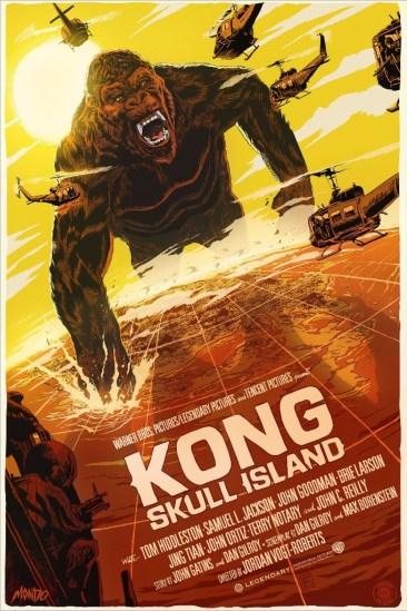Francesco Francavilla's Kong: Skull Island Print variant