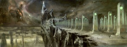 Green Lantern Concept Art - Cemetary and Citadel
