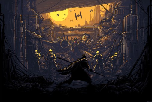 """""""I Am One With The Force, The Force Is With Me"""" by Dan Mumford"""