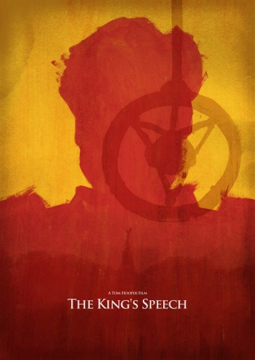 Dean Walton's The King's Speech Poster