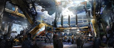 guardians of the galaxy concept art spartoi trading floor