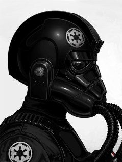 Mike Mitchell TIE Fighter pilot