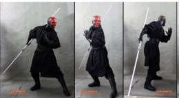life-sized Darth Maul