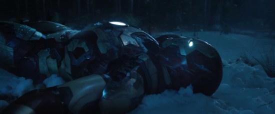 Iron Man 3 Christmas snow