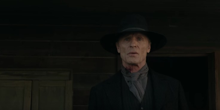 The Man in Black in Westworld