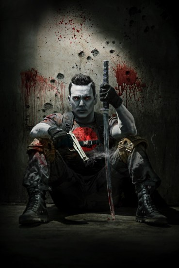 Jason David Frank As Bloodshot in Ninjak