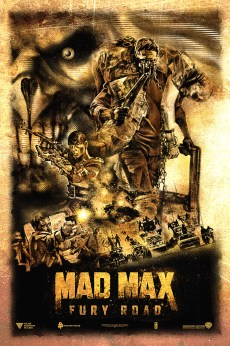 KAZ OOMORI Mad Max Fury Road art posters