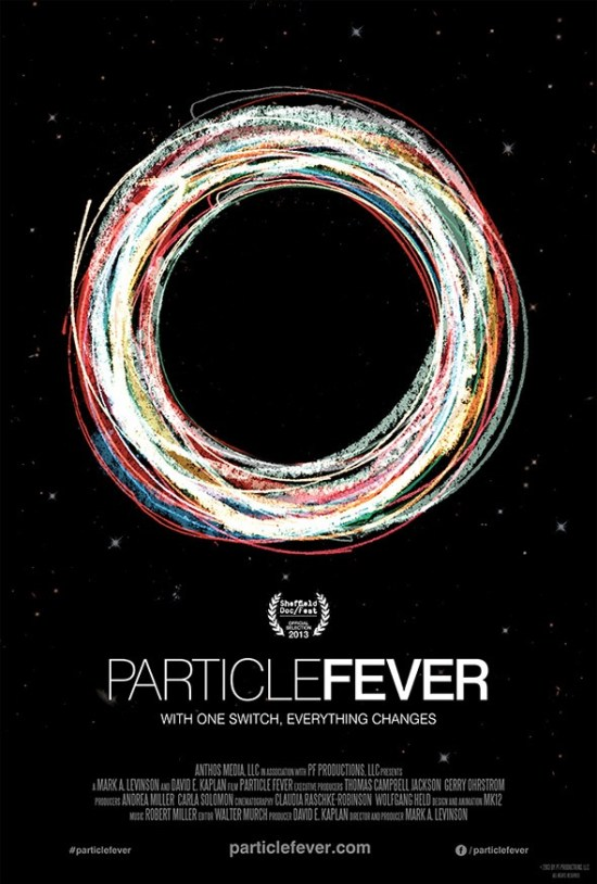 Poster for 'Particle Fever'