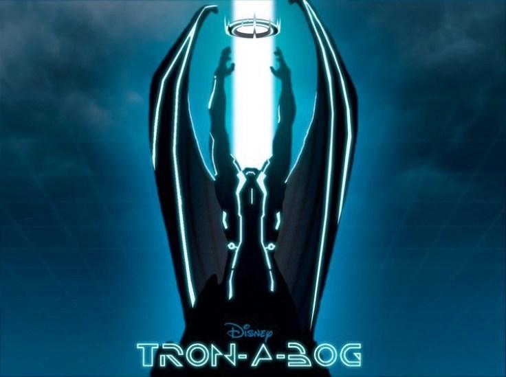 Tron-a-bog by John Dusenberry