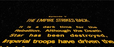 Star Wars: The Empire Strikes Back Crawl