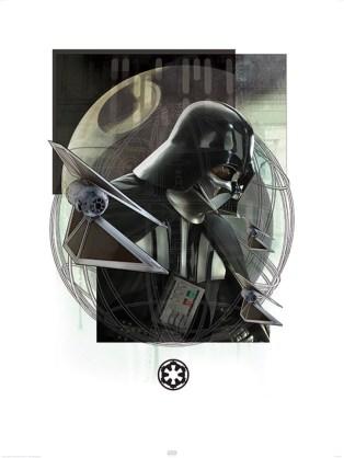 Rogue One artwork - Darth Vader