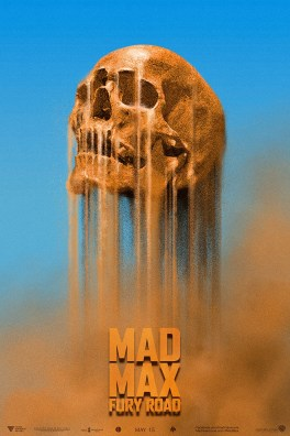 Mad Max Fury Road poster by JOHN ASLARONA