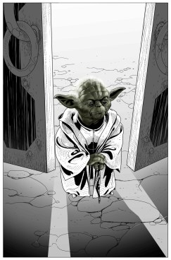 Star Wars #26 comic yoda