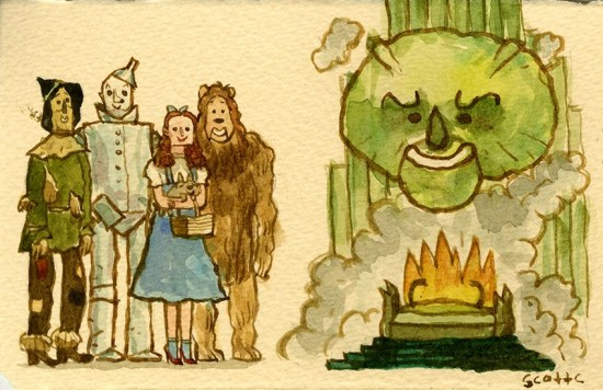 Scott C's Great Showdown tribute to The Wizard of Oz