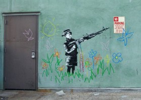Banksy in Hollywood