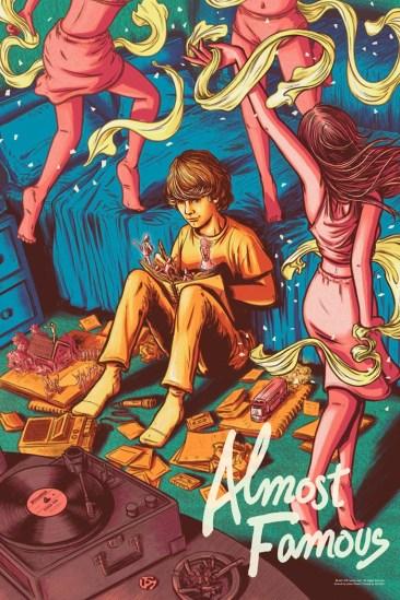 Almost Famous Print - James Flames - Regular