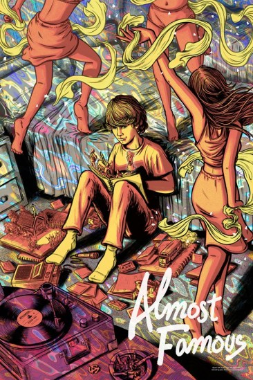 Almost Famous Print - James Flames - Variant