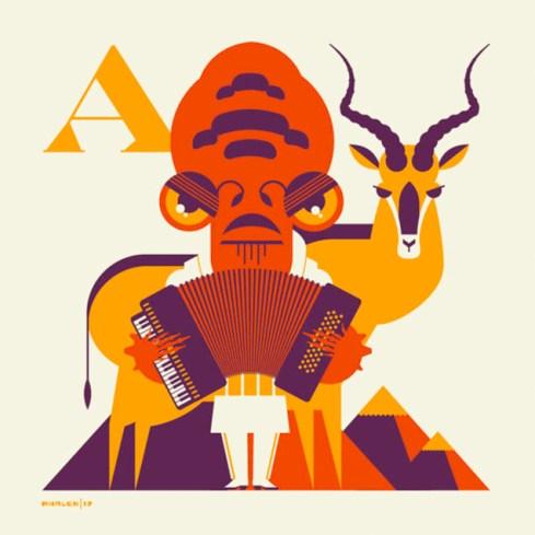 Alphabitz - Admiral Ackbar