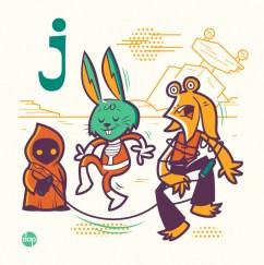 Alphabitz - Jar Jar Binks