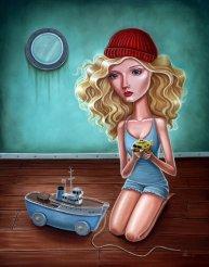 Audrey Pongracz - Wes Anderson art
