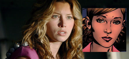 Jessica Biel as Betty Ross in The Incredible Hulk