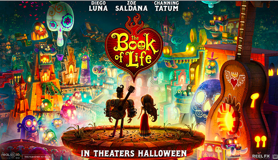 book of life trailer