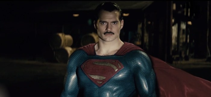 Superman Mustache - Morning Watch