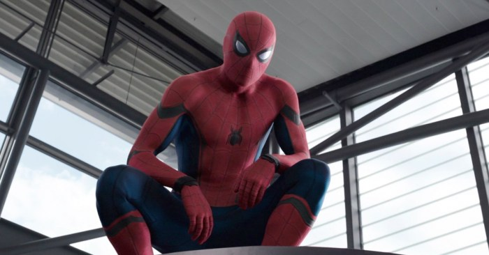 Spider-Man Homecoming Suit Upgrade