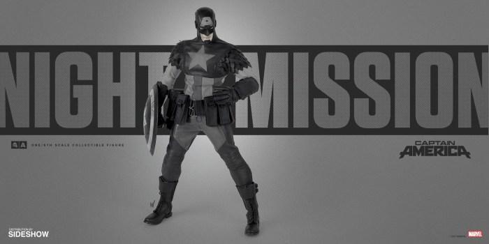 Captain America Night Mission Figure