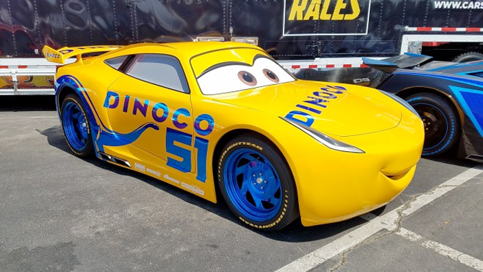 Cars 3 - Cruz Ramirez Real-Life