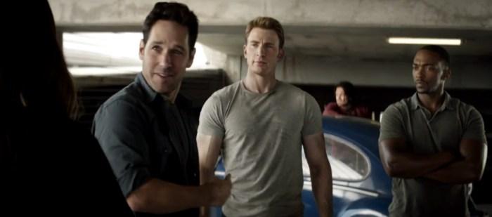 Captain America Civiil War Clip