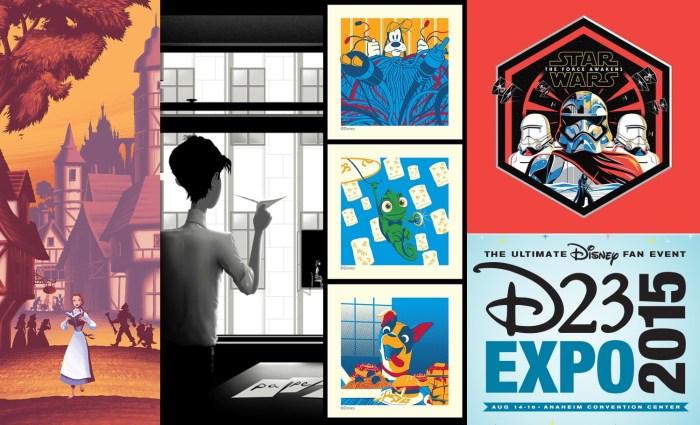 D23 Expo 2015 Prints