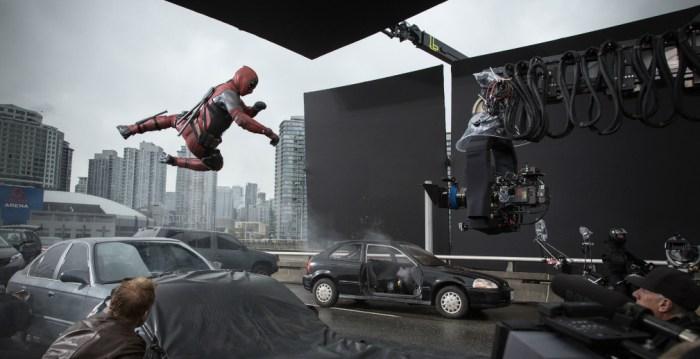 Deadpool Stunt Photo