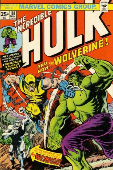 Marvel Hulk vs Wolverine