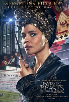 Fantastic Beasts and Where to Find Them Character Poster - Seraphina Picquery