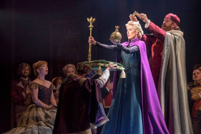 New Frozen Broadway Musical Images