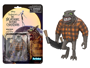 Nightmare Before Christmas ReAction Figure - Wolfman