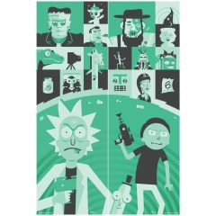 Gallery 1988 Rick and Morty